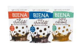 Biena chocolate-covered chickpeas