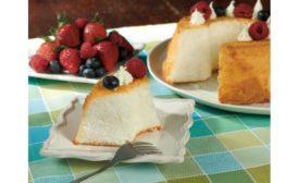 Hill & Valley sugar free angel food cake