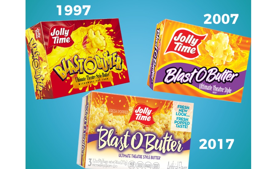 JOLLY TIME blast o butter popcorn