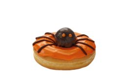 Dunkin Donuts Spider Donut for Halloween