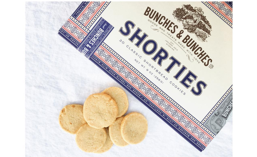 Bunches & Bunches Shorties shortbread cookies
