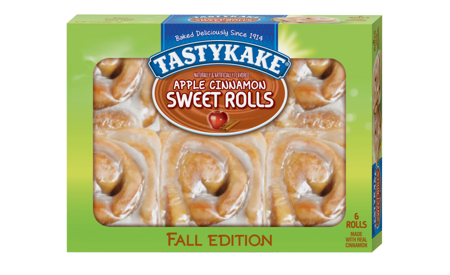 Tastykake apple cinnamon sweet rolls