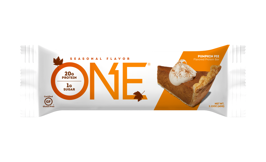 ONE Bar Pumpkin Pie flavor