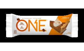 ONE Bar Pumpkin Pie flavor