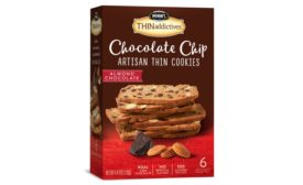 Nonnis Foods Chocolate Chip Artisan Thin Cookies