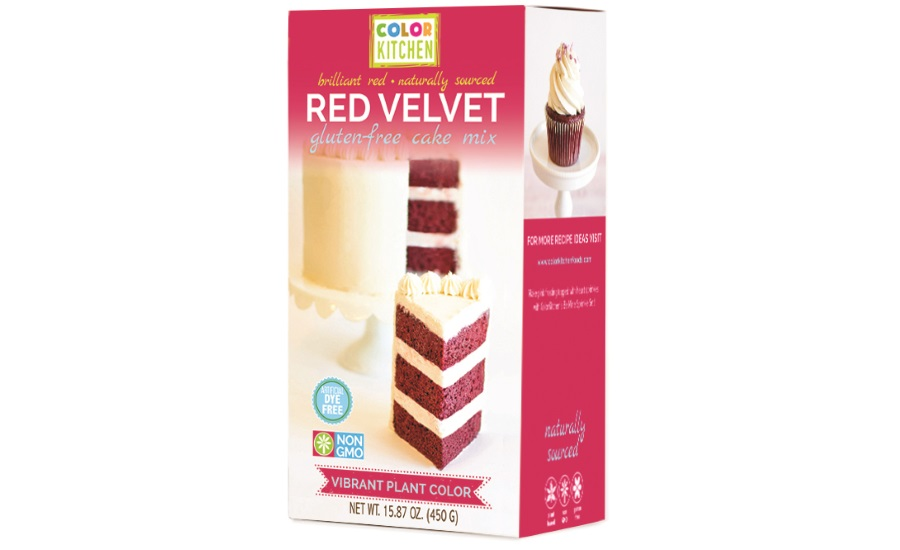 ColorKitchen gluten-free all-natural red velvet cake mix