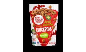 The Good Bean Sweet Sriracha chickpeas