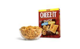 Cheez-It Duoz with caramel popcorn
