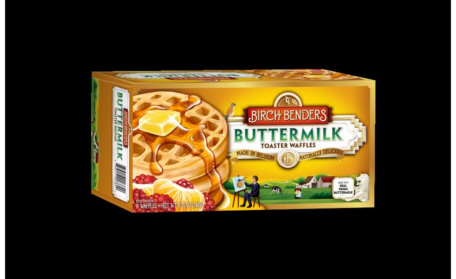 Birch Benders frozen waffles