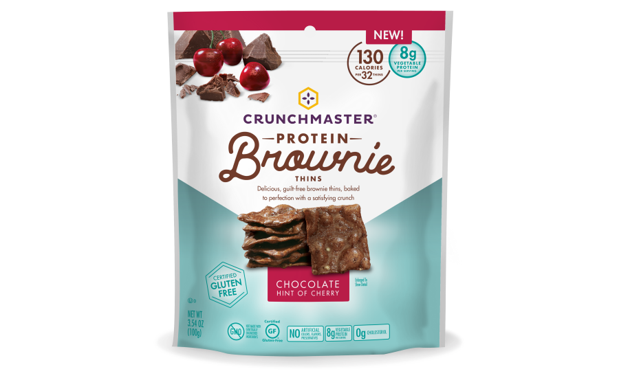 Crunchmaster Protein Brownie Thins