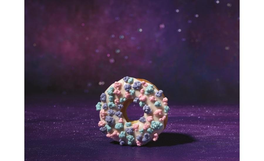 Dunkin Donuts Comet Candy doughnut