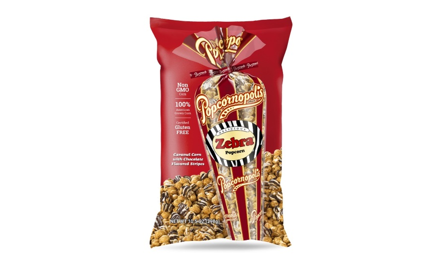 Popcornopolis new packaging