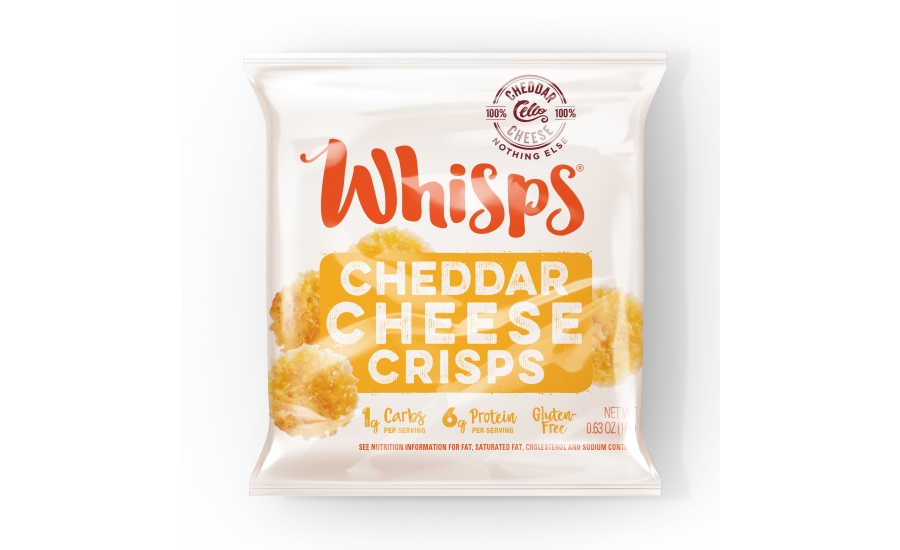 Whisps cheddar crackers single-serve