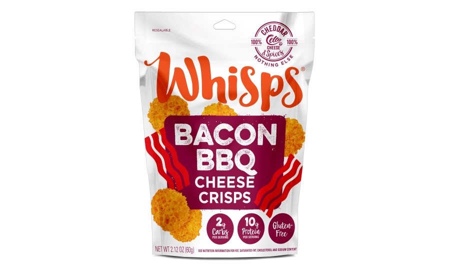 Whisps cheddar BBQ crackers