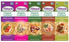Miltons organic crackers