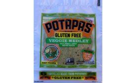 Potapas veggie medley tortillas