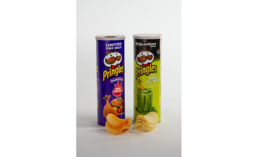 Pringles Nashville hot chicken and screamin dill pickle