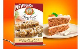 Sunbelt Bakery carrot cake granola bars