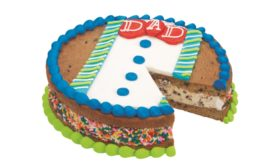 Baskin-Robbins Fathers Day cookie cake