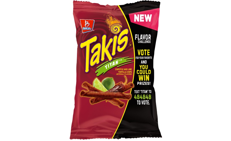 Takis new flavors roll-shaped tortilla snacks