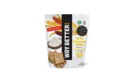 Way Better Snacks ancient grains sorghum crackers
