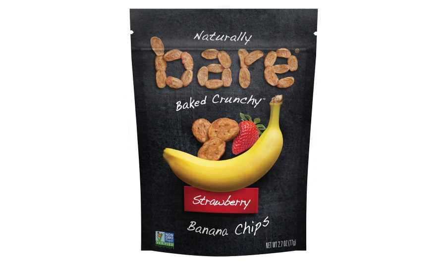 bare strawberry banana chips