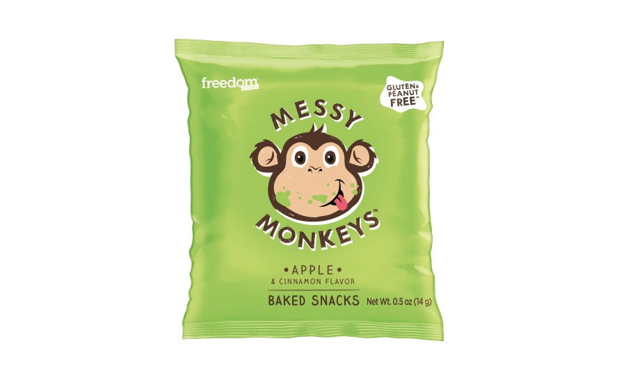 Messy Monkeys whole grain snacks
