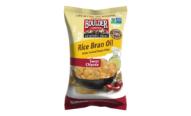 Boulder Canyon chips made with rice bran oil