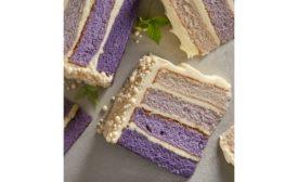 Devonshire ombre cake