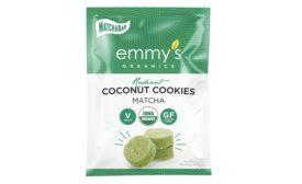 Emmys Organics Matcha cookies