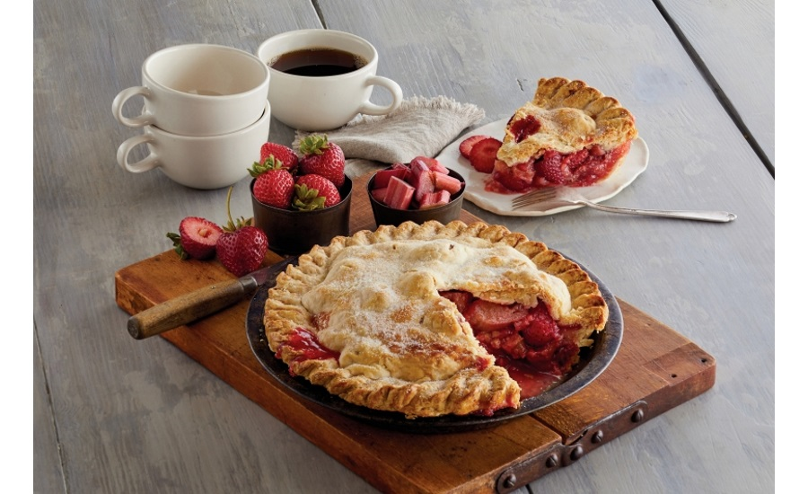 Harry & David strawberry rhubarb pie