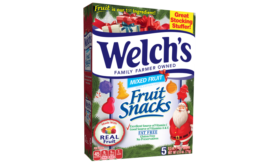 Welchs Christmas fruit snacks