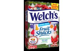 Welchs Christmas fruit snacks