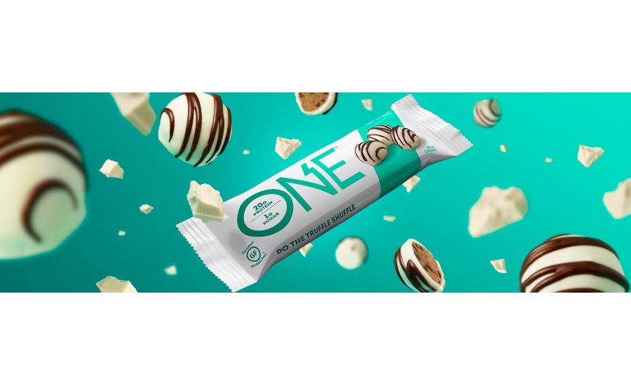 ONE Brands White Chocolate Truffle bar