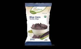 ALDI organic blue corn tortilla chips