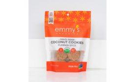 Emmys Organics pumpkin spice cookies