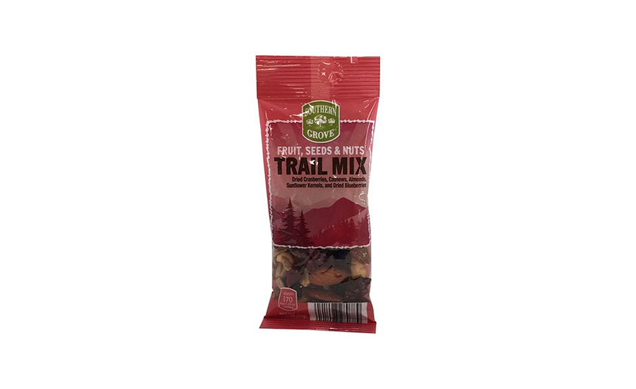 ALDI fruit and nut trail mix