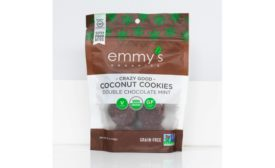 Emmys Organics double chocolate mint cookies