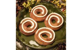 Krispy Kreme cinnamon spice doughnut