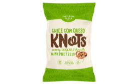 Knots mini pretzels chile con queso