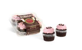 Rubicon Bakers Vegan Neapolitan cupcakes