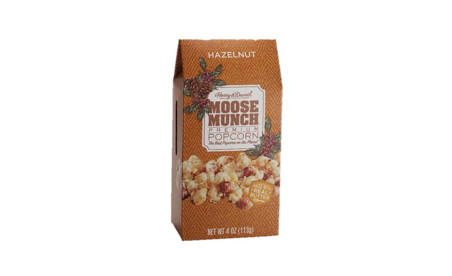 Harry & David Moose Munch Hazelnut popcorn