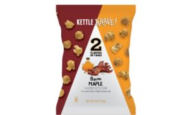 Kettle Krave! popcorn bacon maple
