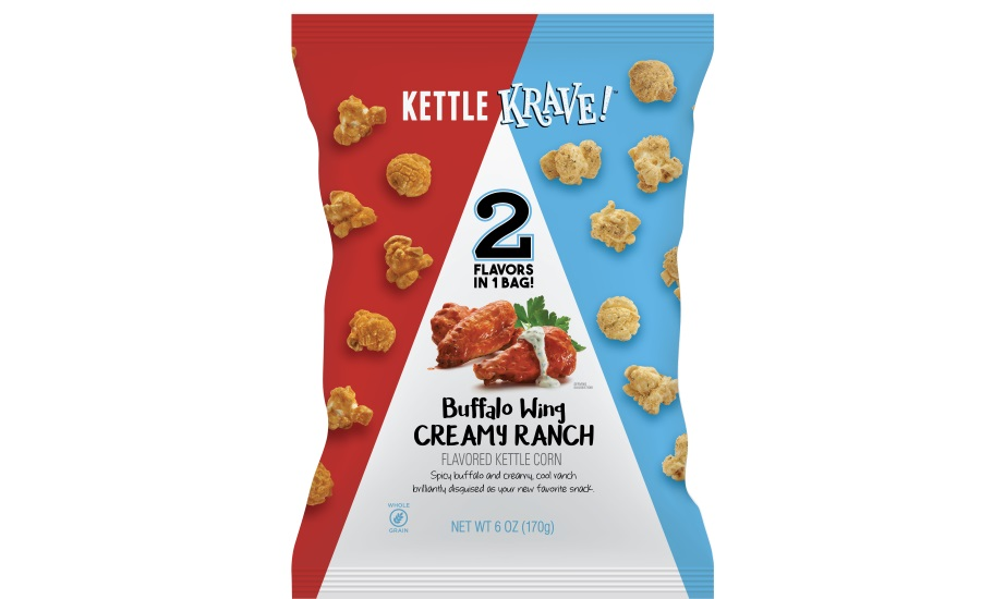 Kettle Krave! popcorn buffalo wing and creamy ranch