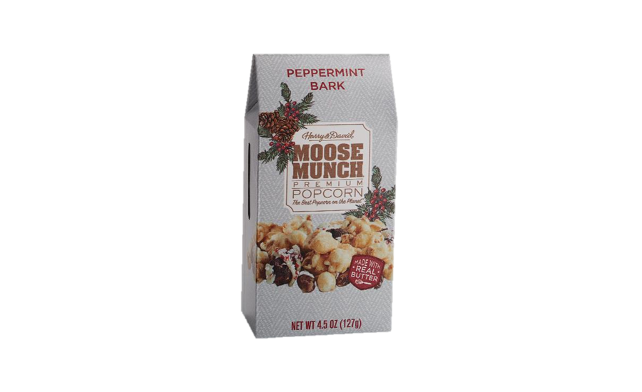 Harry & David Moose Munch Premium Popcorn Peppermint Bark
