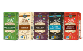 Lundberg Family Farms Unveils NEW Flavors to Popular Thin Stackers Line