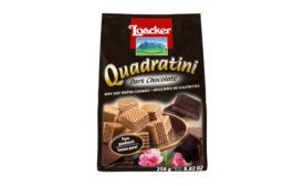 Loacker Dark Chocolate Quadratini Wafers