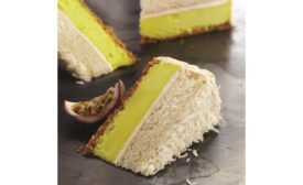 Devonshire passion fruit cheesecake