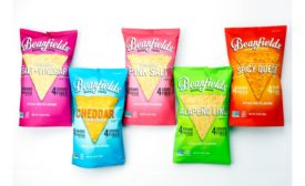 Beanfields tortilla chips new flavors vegan