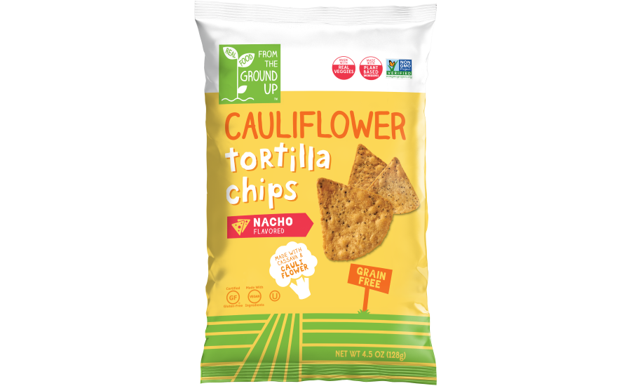 Real Food From The Ground Up Cauliflower Based Tortilla Chips And